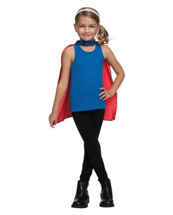 Supergirl Mask & Cape Set