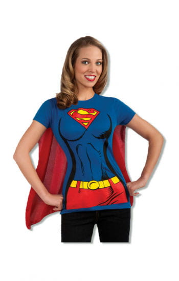 Supergirl T-shirt Cape