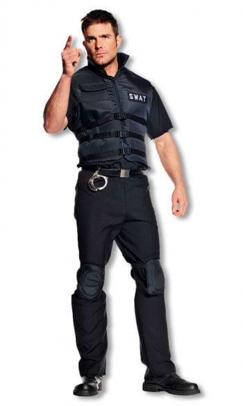 s w a t polizei weste polizei kost m police weste horror. Black Bedroom Furniture Sets. Home Design Ideas
