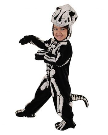 T-Rex Skelett Kleinkinderkostüm
