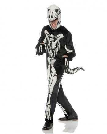T-Rex Skelett Kostüm für Erwachsene