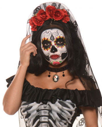 Day Of The Dead Collar With Cameo