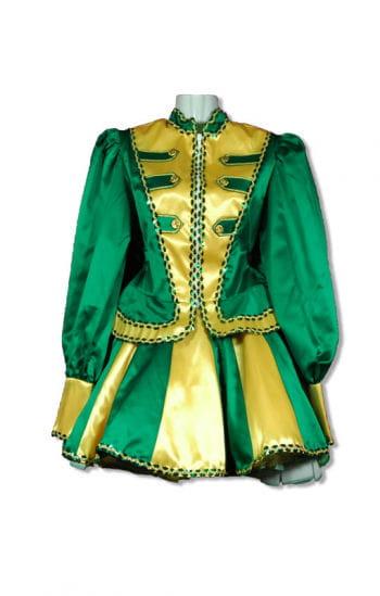Tanzmariechen Costume Premium green / gold