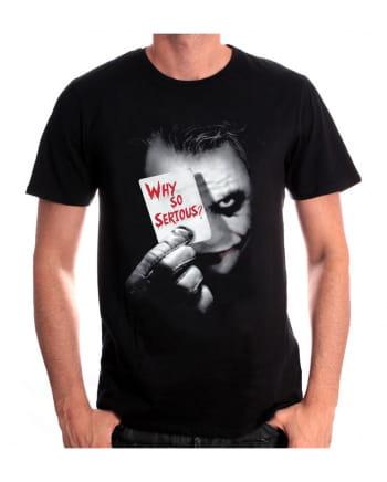 The Dark Knight Joker T-Shirt Why so serious?
