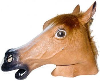 Tiermaske Pferd braun