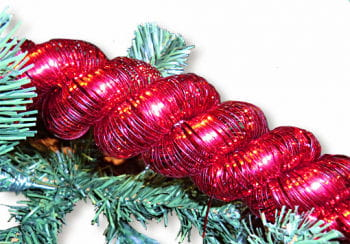 Tinsel Cord Red 4 m