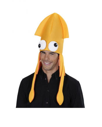 Squid hat orange