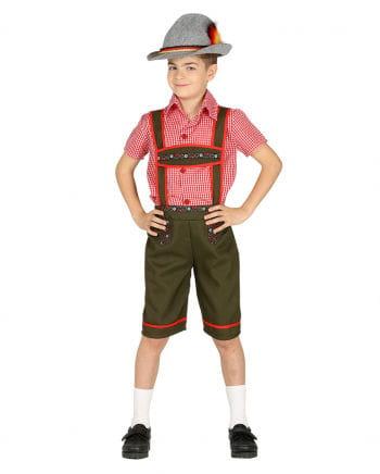 Tiroler Junge Kinderkostüm