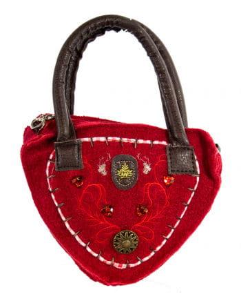 Tiroler Damentasche Delux rot