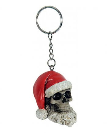 Skull Santa Claus Key Chain