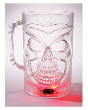 Skull Beer Jug ​​with LED Color Changer