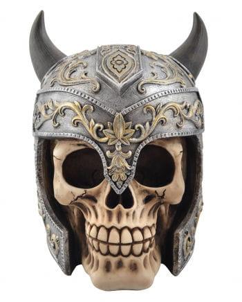Totenschädel with Viking helmet