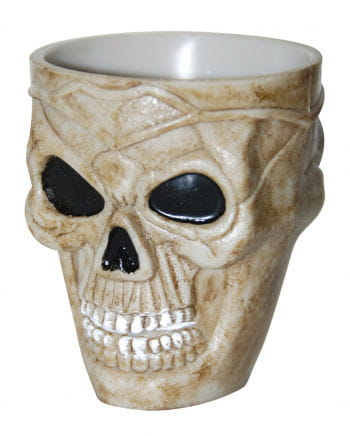 Dead skull shot glass