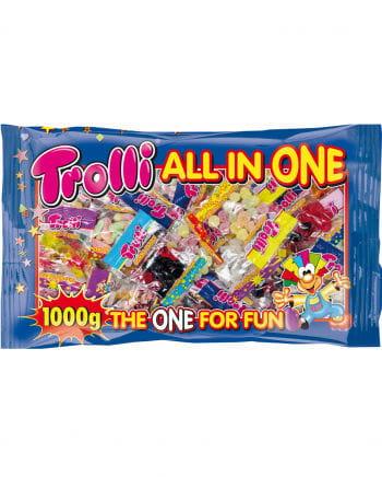 Trolli All in One Süßigkeiten Mega Pack 1Kg