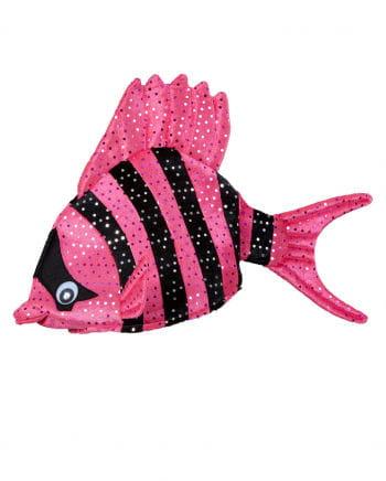 Tropischer Fischhut Pink
