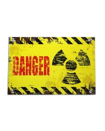 Danger door plate