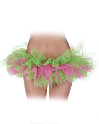 Ballet Tutu Pink / Green