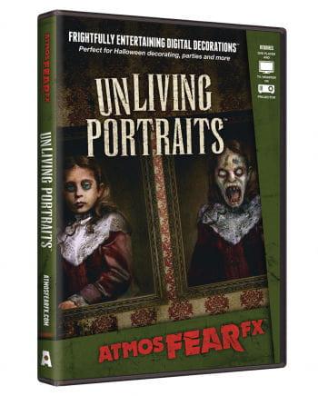 Unliving Portraits TV Halloween Effekt DVD