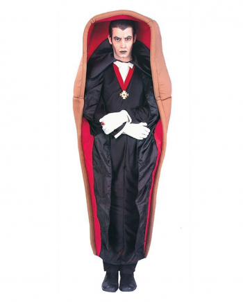Vampire In Coffin Costume