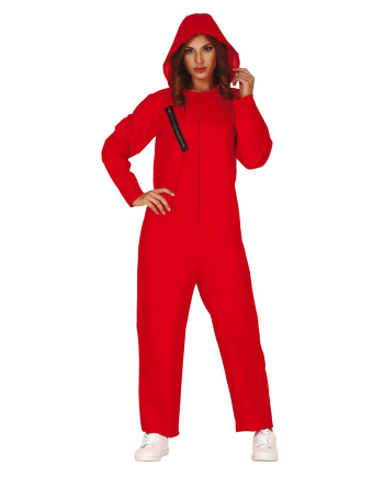 Verbrecherin Overall Rot
