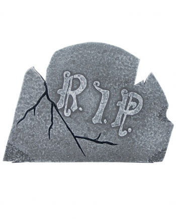 Weathered Halloween gravestone cross