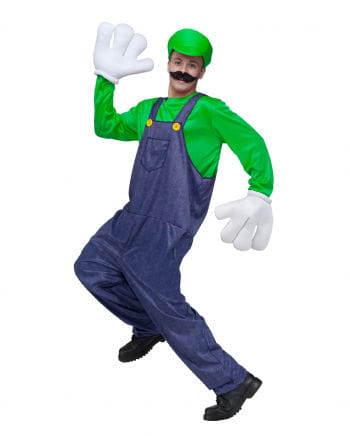 Videospiel Klempner 2 Kostüm