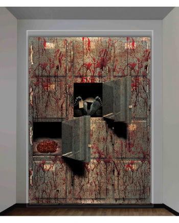 Halloween Wall Foil Corpse House