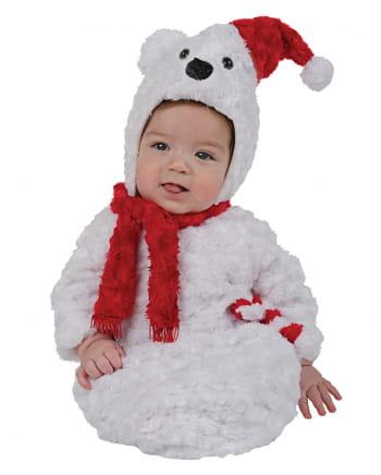 polar bear plush baby costume for street carnival horror. Black Bedroom Furniture Sets. Home Design Ideas