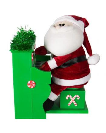 Weihnachtsmann der Piano spielt