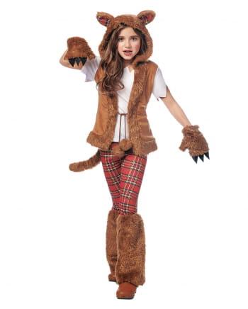 Werwolf Mädchen Kostüm