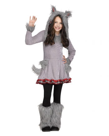 Wolf Child Costume as Halloween disguise   horror-shop.com