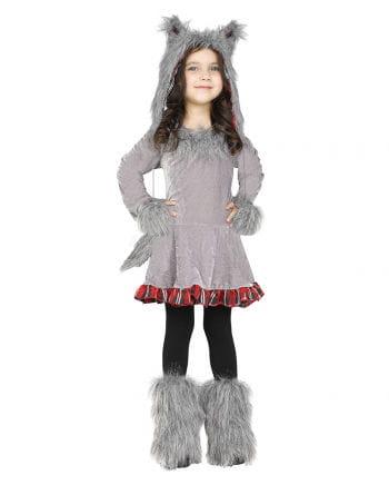 Wolf Kostüm für Kleinkinder | Halloween Verkleidung | Horror-Shop.com