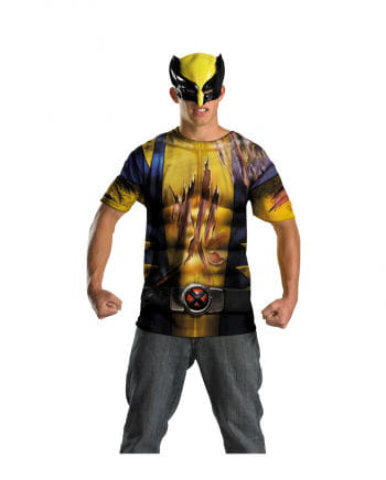 Wolverine Shirt with mask teens