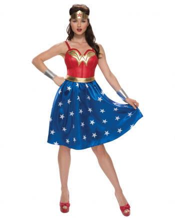 Wonder Woman Costume Dress 4-pcs.
