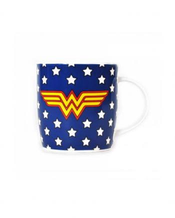 Wonder Woman Tasse Sterne blau