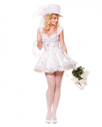 Zauberhafte Braut Premium Kostüm Gr. XL
