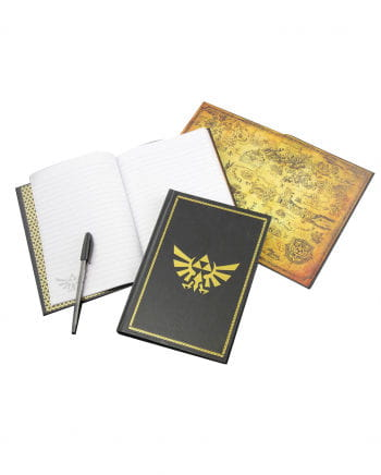Zelda Hyrule Logo Notebook