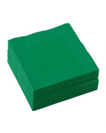 Zellstoff-Servietten grün 50 St.