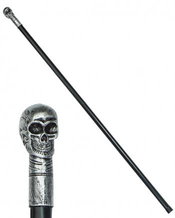 Totenkopf Gehstock zerlegbar 105 cm