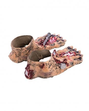Zombie Füße zum Überziehen