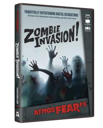 Zombie Invasion TV Halloween Effekt DVD