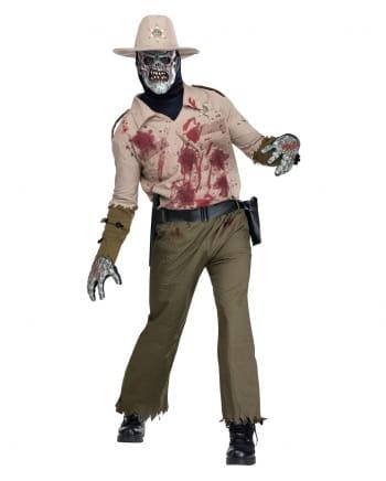 Zombie Sheriff Kostüm Deluxe