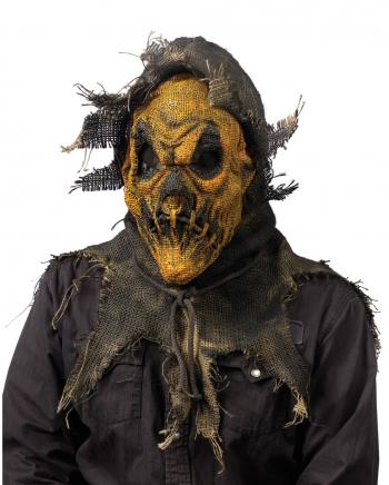 Zombie Scarecrow Mask Orange