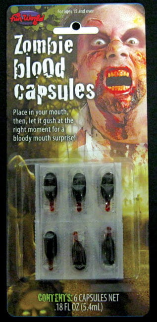 Zombie Blutkapseln