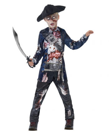 Zombie Pirate Child Costume