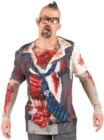 Blutiges Zombie T-Shirt