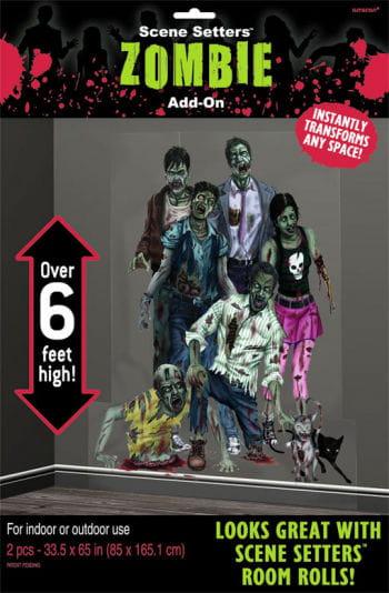 Zombie Invasion Wandfolie