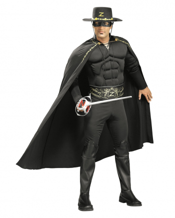 Zorro Muscle Deluxe Costume XL