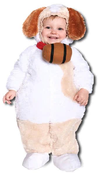 Sweet St Bernard Child Costume M