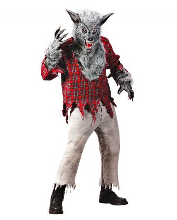 Werewolf Costume Grey